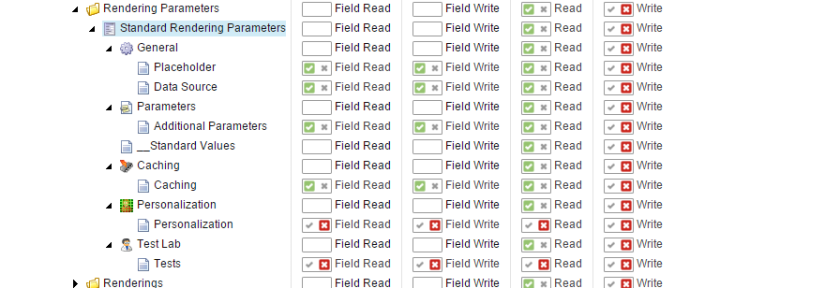 Field Write Enabled